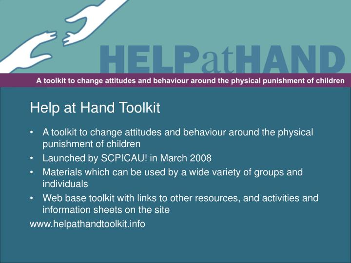 Help at Hand Toolkit