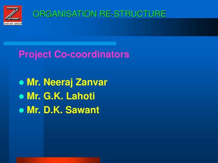 Organisation re structure1