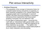 plot versus interactivity1