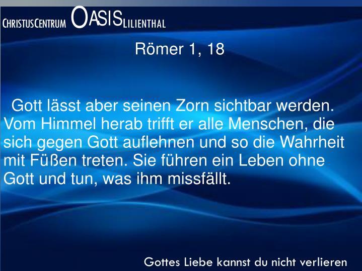 Römer 1, 18