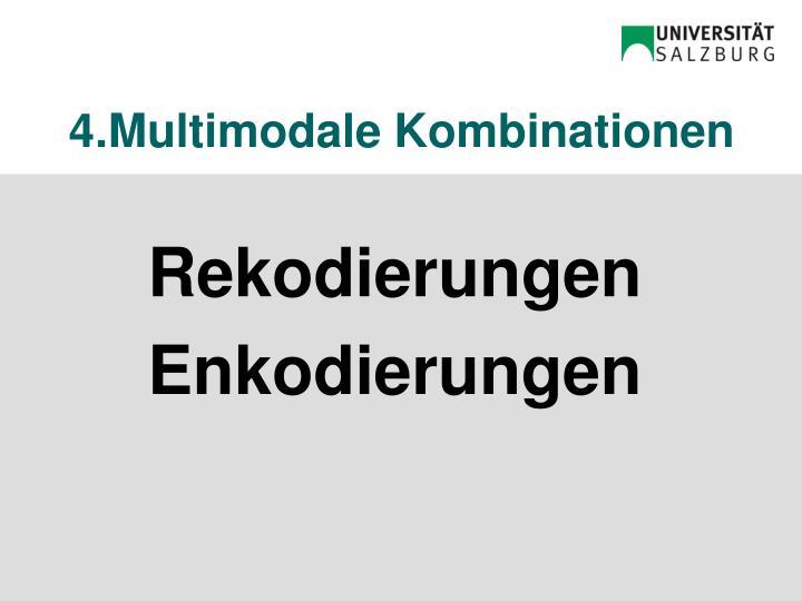 4.Multimodale Kombinationen