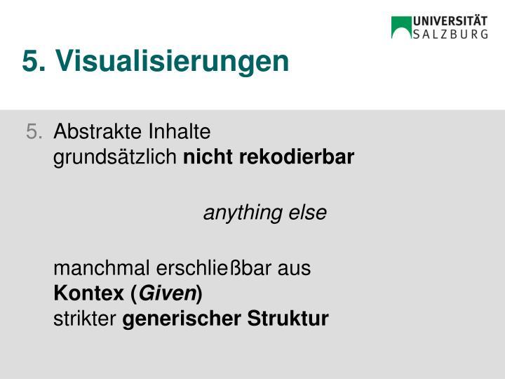 5. Visualisierungen