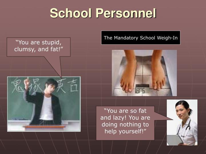 School Personnel
