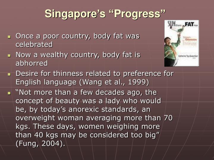 "Singapore's ""Progress"""