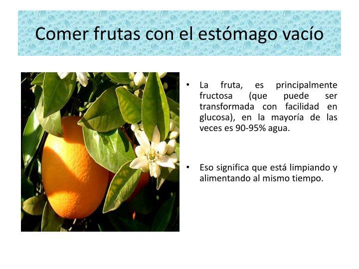 Comer frutas con el est mago vac o1
