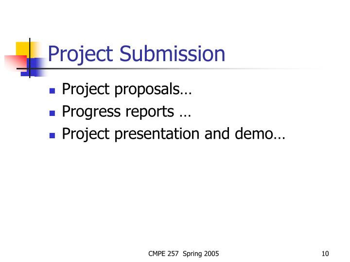 Project Submission