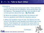 2 1 talk to each other