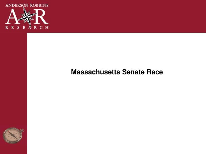 Massachusetts Senate Race