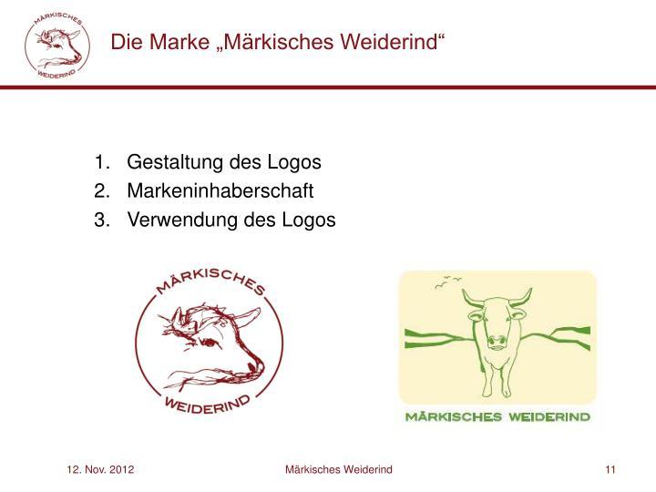 """Die Marke """"Märkisches Weiderind"""""""