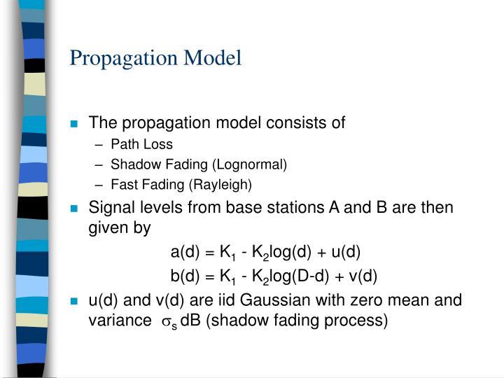 Propagation Model