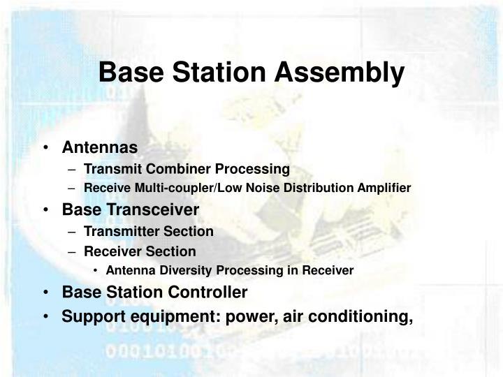 Base Station Assembly