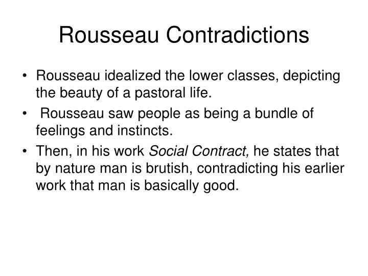 Rousseau Contradictions