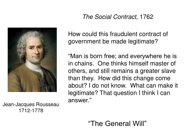 The Social Contract,