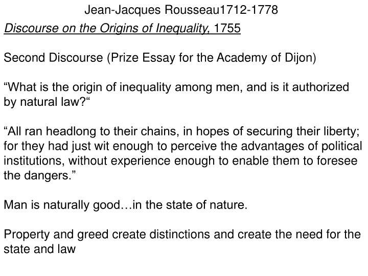 Jean-Jacques Rousseau1712-1778