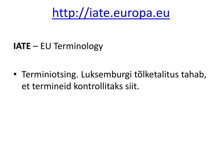 http://iate.europa.eu