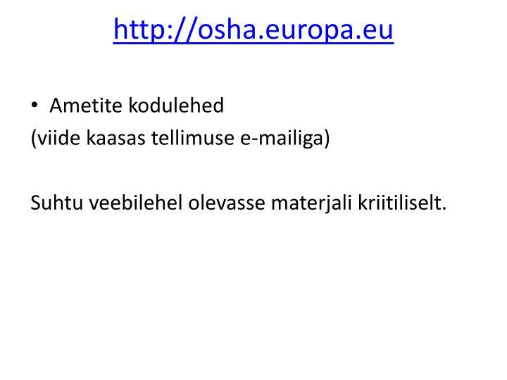 http://osha.europa.eu
