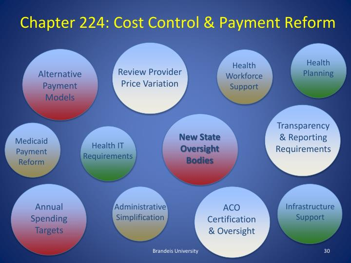 Chapter 224: Cost Control & Payment Reform