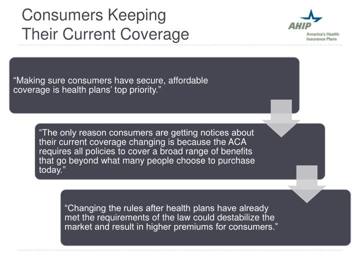 Consumers Keeping