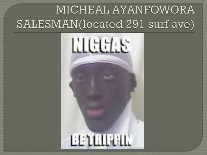 MICHEAL AYANFOWORA