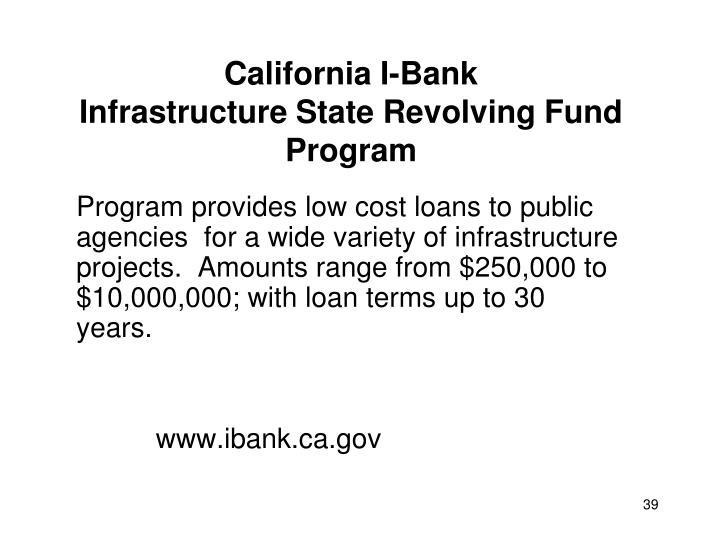 California I-Bank