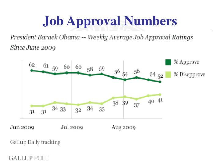 Job Approval Numbers