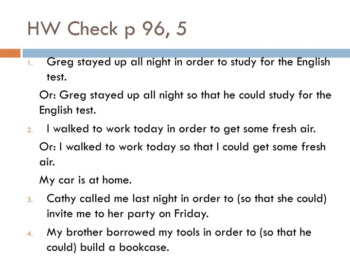 HW Check p 96, 5