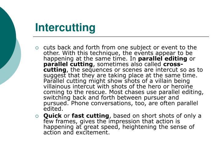 Intercutting
