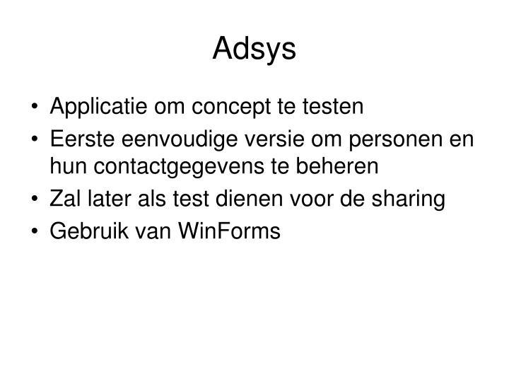 Adsys