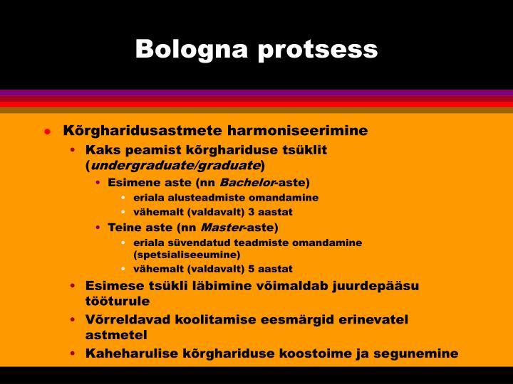 Bologna protsess