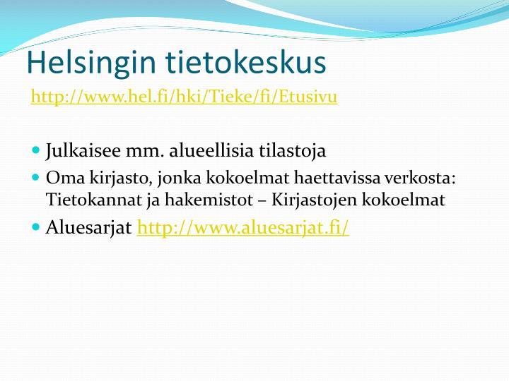 Helsingin tietokeskus