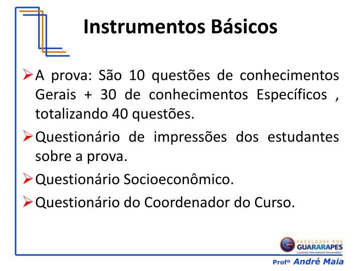 Instrumentos b sicos