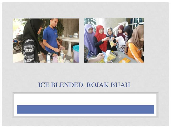 Ice Blended,