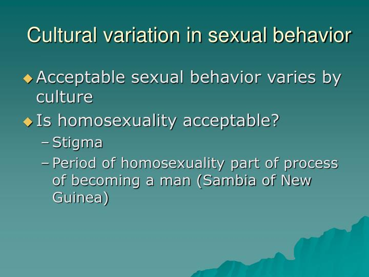 """variations of sexual behavior An online guide for teaching adolescents about the birds and the bees  once known as """"sexual deviations"""" or """"sexual perversions"""" are now called as """"sexual variations"""" the exact cause is not known freud thought it to be due to fixation at certain developmental stages, different complexes, immature personality,."""