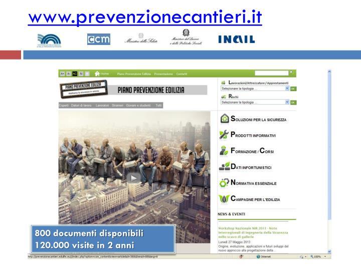 www.prevenzionecantieri.it