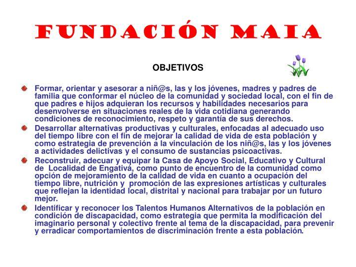 Fundaci n maia1