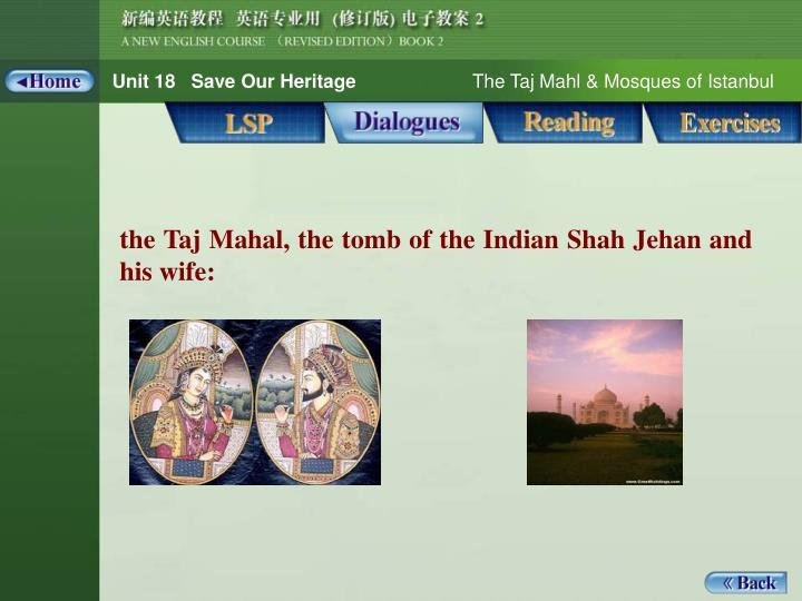 Dialogues_Notes 1_the Taj Mahal ...