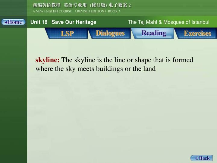 Reading_Notes 1_skyline
