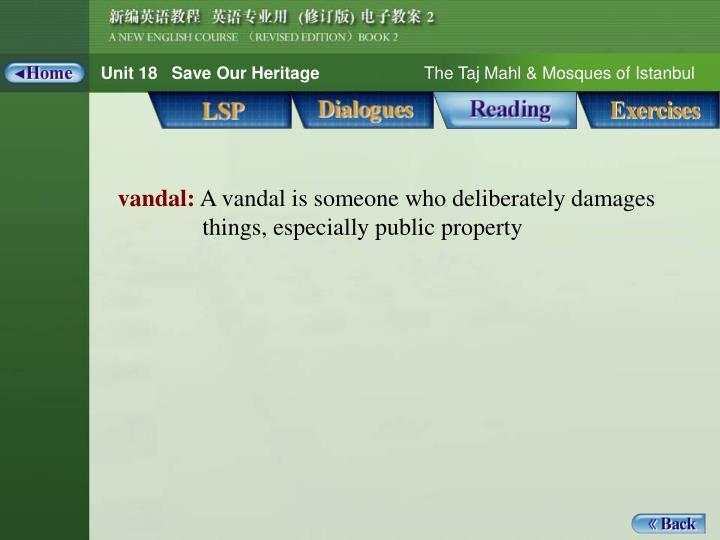 Reading_Words 1_vandal