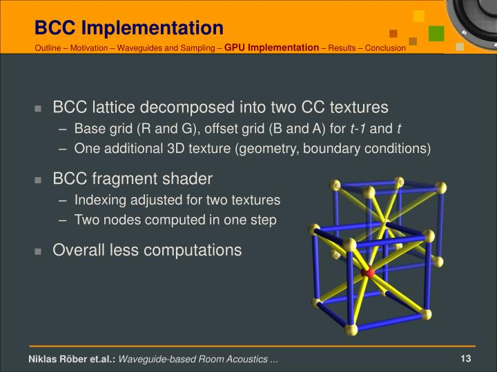 BCC Implementation