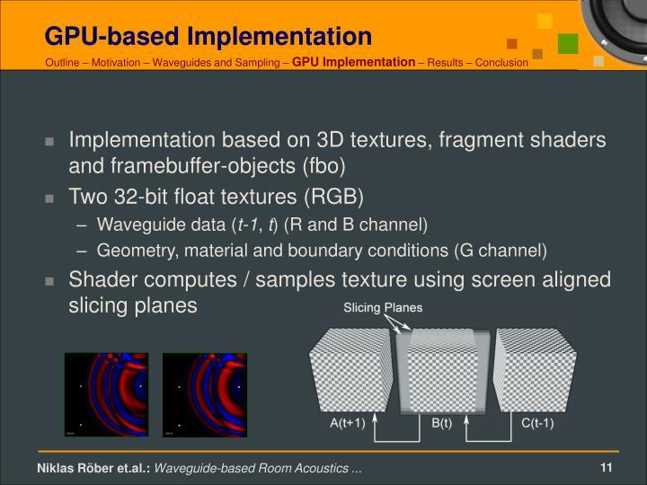 GPU-based Implementation