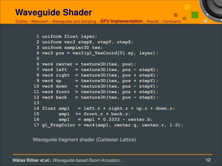 Waveguide Shader