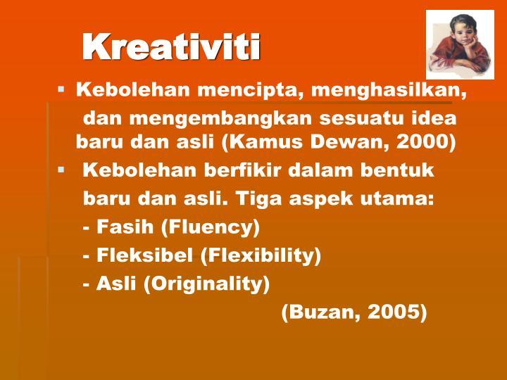 Kreativiti