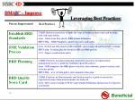 dma i c improve leveraging best practices