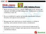 dma i c improve process solution 2 sme validation process