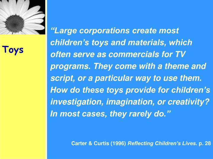 """Large corporations create most"