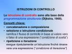 istruzioni di controllo1