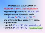 problema calcolo di b k1