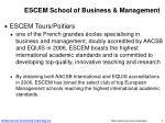 escem school of business management