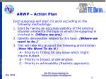 arwp action plan