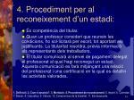 4 procediment per al reconeixement d un estadi